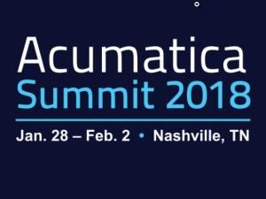 Acumatica Summit 2018, Nashville