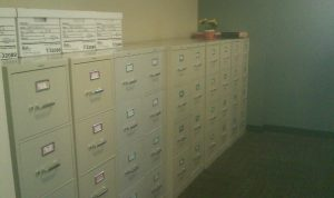 Before: Dash DDX Document Archiving system rids users of filing cabinets, opens up floor space