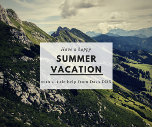 Summer brought to you by Dash