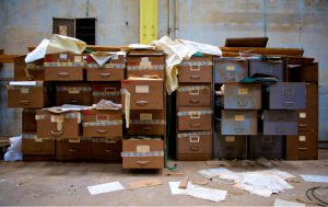 Messy Filing Cabinets