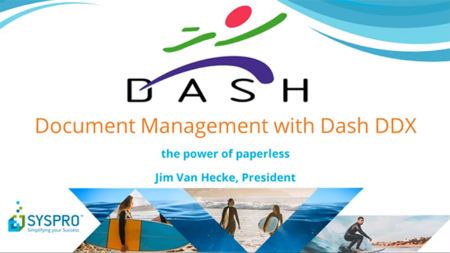 Document Management with Dash DDX